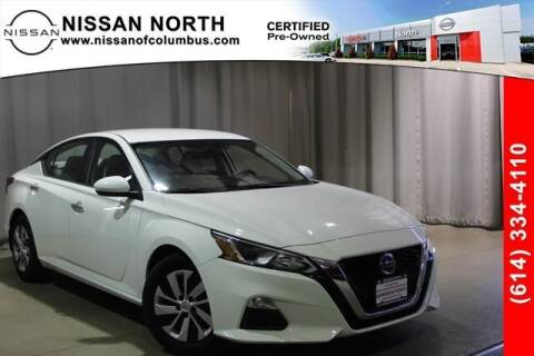 2020 Nissan Altima for sale at Auto Center of Columbus in Columbus OH