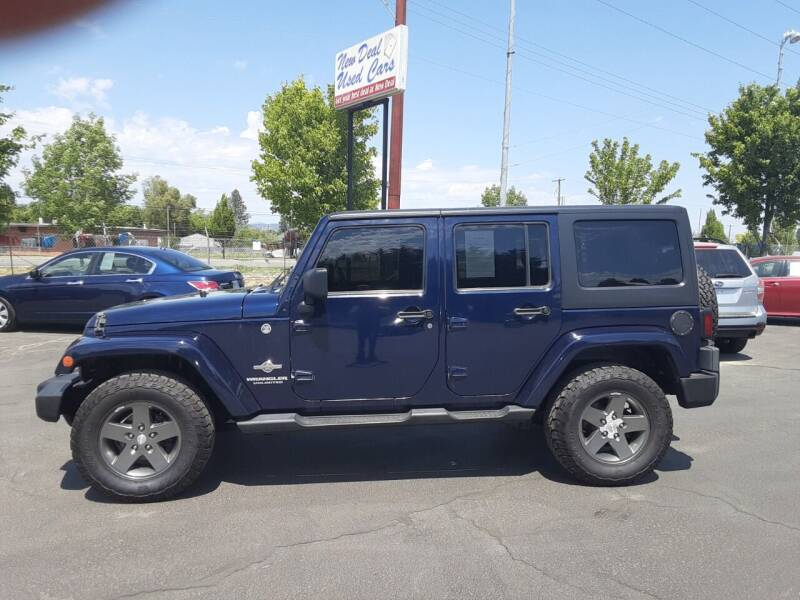 2012 Jeep Wrangler Unlimited for sale at New Deal Used Cars in Spokane Valley WA