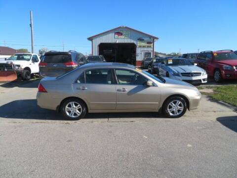 2007 Honda Accord for sale at Jefferson St Motors in Waterloo IA