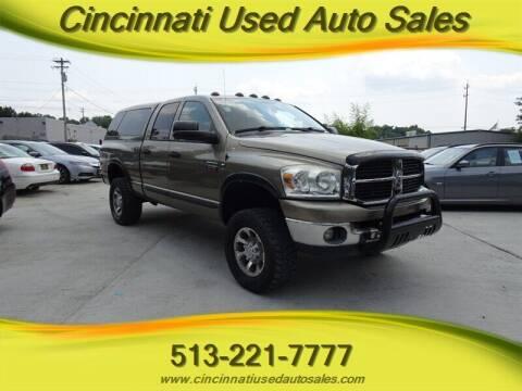 2007 Dodge Ram Pickup 2500 for sale at Cincinnati Used Auto Sales in Cincinnati OH