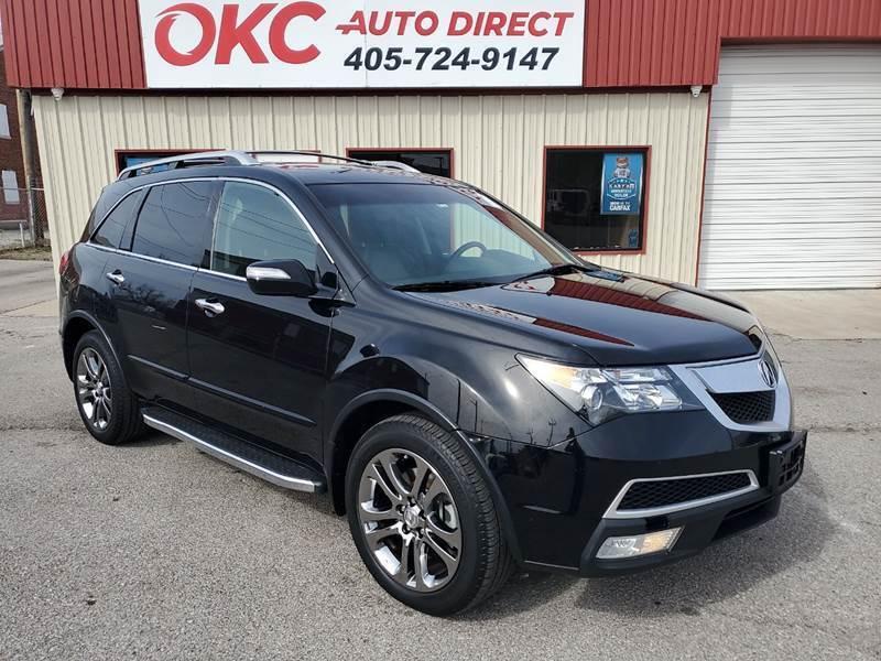 2013 Acura MDX for sale at OKC Auto Direct in Oklahoma City OK