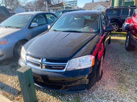 2012 Dodge Avenger for sale at GREENLIGHT AUTO SALES in Akron OH