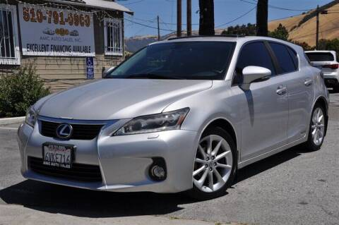 2012 Lexus CT 200h for sale at AMC Auto Sales, Inc. in Fremont CA