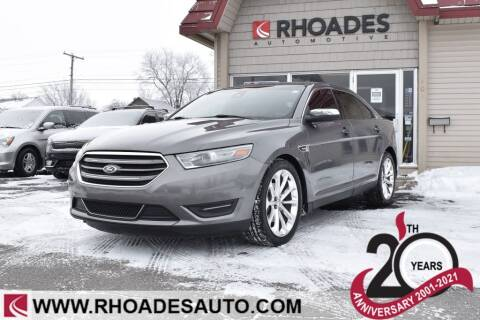 2013 Ford Taurus for sale at Rhoades Automotive in Columbia City IN