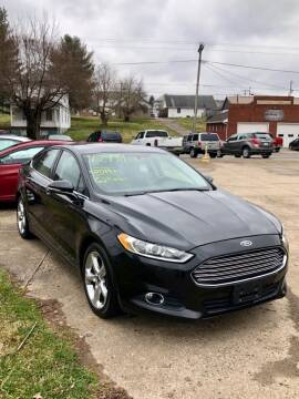 2014 Ford Fusion for sale at Stephen Motor Sales LLC in Caldwell OH
