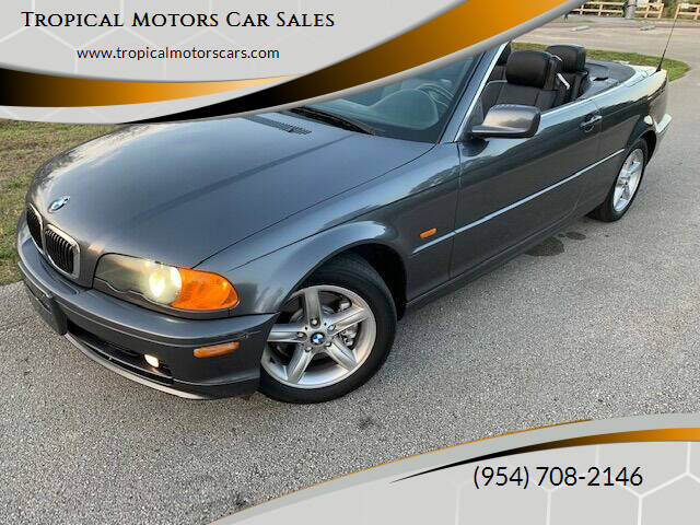 2002 BMW 3 Series for sale at Tropical Motors Car Sales in Deerfield Beach FL