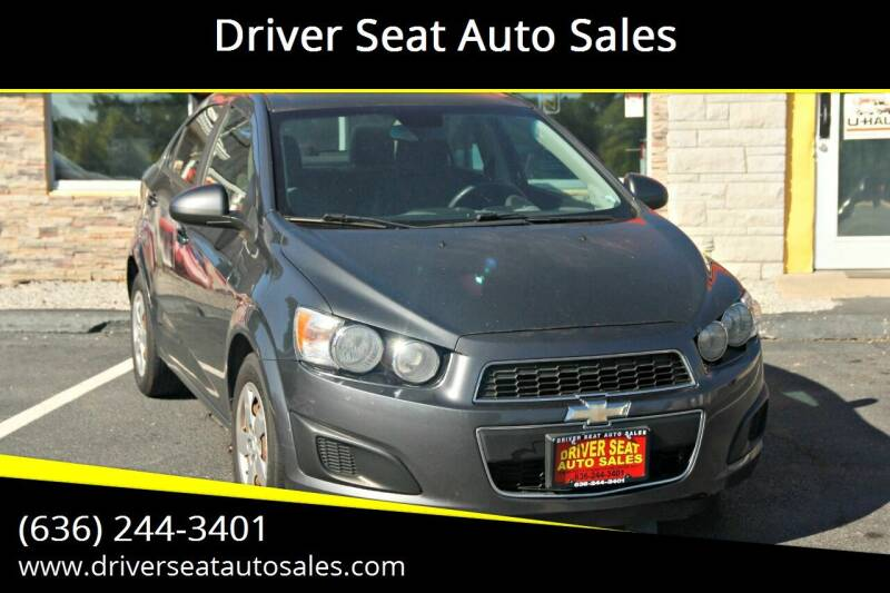 2013 Chevrolet Sonic for sale at Driver Seat Auto Sales in St. Charles MO