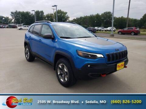2019 Jeep Cherokee for sale at RICK BALL FORD in Sedalia MO