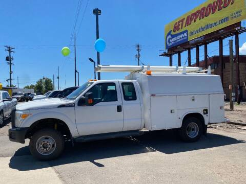 2012 Ford F-350 Super Duty for sale at New Wave Auto Brokers & Sales in Denver CO
