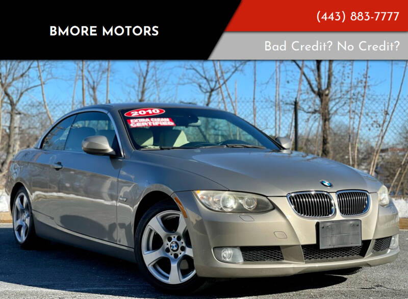 2010 BMW 3 Series for sale at Bmore Motors in Baltimore MD