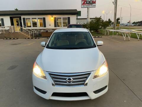 2015 Nissan Sentra for sale at Zoom Auto Sales in Oklahoma City OK