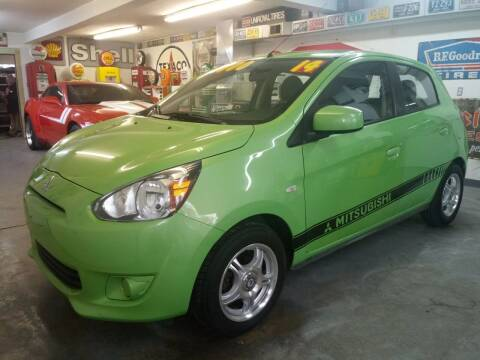 2014 Mitsubishi Mirage for sale at Beechwood Motors in Somerville OH