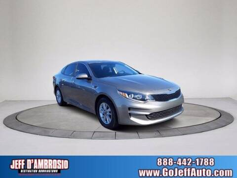 2017 Kia Optima for sale at Jeff D'Ambrosio Auto Group in Downingtown PA