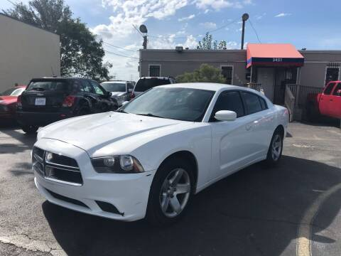 2012 Dodge Charger for sale at Saipan Auto Sales in Houston TX