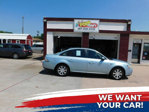 2008 Ford Taurus for sale at Pork Chops Truck and Auto in Cheyenne WY