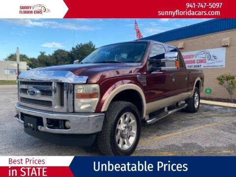 2009 Ford F-250 Super Duty for sale at Sunny Florida Cars in Bradenton FL