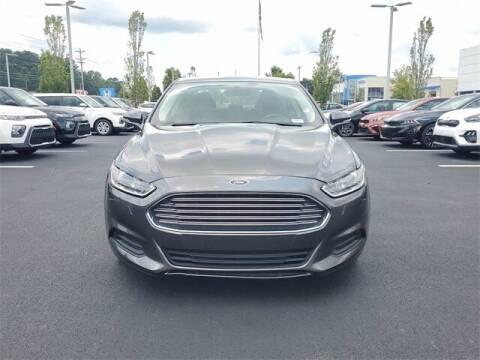 2016 Ford Fusion Hybrid for sale at Lou Sobh Kia in Cumming GA