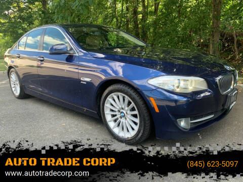 2011 BMW 5 Series for sale at AUTO TRADE CORP in Nanuet NY