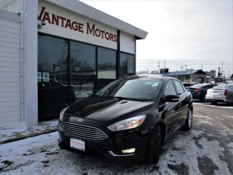 2017 Ford Focus for sale at Vantage Motors LLC in Raytown MO