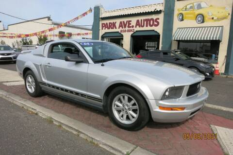 2005 Ford Mustang for sale at PARK AVENUE AUTOS in Collingswood NJ