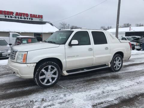 2004 Cadillac Escalade EXT for sale at BLAESER AUTO LLC in Chippewa Falls WI