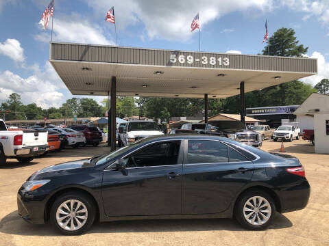 2016 Toyota Camry for sale at BOB SMITH AUTO SALES in Mineola TX