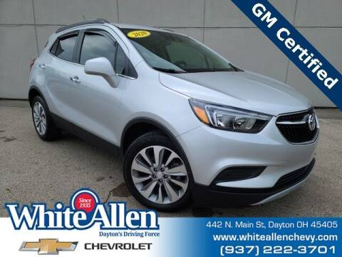 2020 Buick Encore for sale at WHITE-ALLEN CHEVROLET in Dayton OH