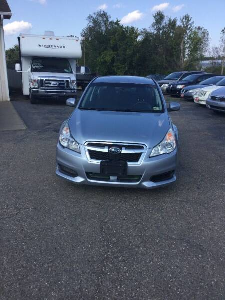 2013 Subaru Legacy for sale at Stewart's Motor Sales in Cambridge/Byesville OH