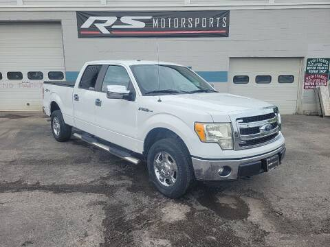 2014 Ford F-150 for sale at RS Motorsports, Inc. in Canandaigua NY