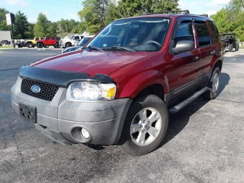 2007 Ford Escape for sale at Cruisin' Auto Sales in Madison IN