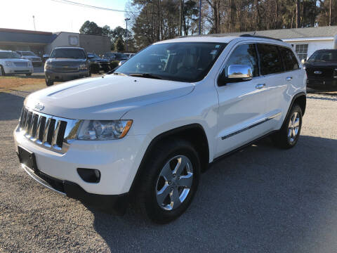2012 Jeep Grand Cherokee for sale at Robert Sutton Motors in Goldsboro NC
