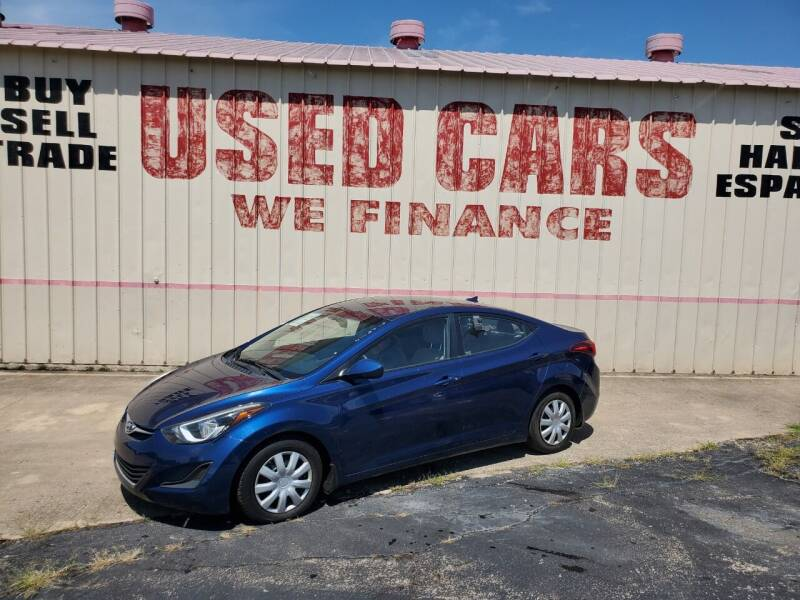 2016 Hyundai Elantra for sale at Yates Brothers Motor Company in Fort Worth TX