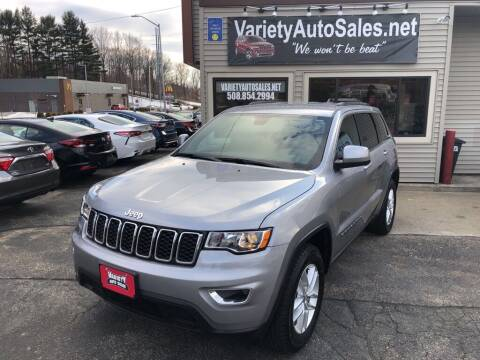 2018 Jeep Grand Cherokee for sale at Variety Auto Sales in Worcester MA