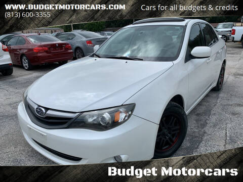 2010 Subaru Impreza for sale at Budget Motorcars in Tampa FL
