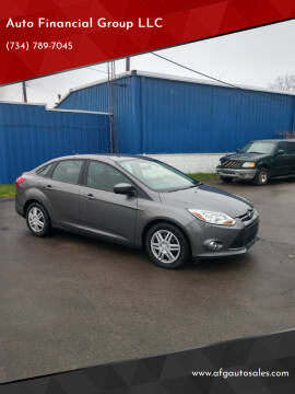 2012 Ford Focus for sale at Auto Financial Group LLC in Flat Rock MI