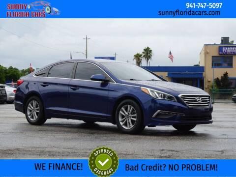 2015 Hyundai Sonata for sale at Sunny Florida Cars in Bradenton FL