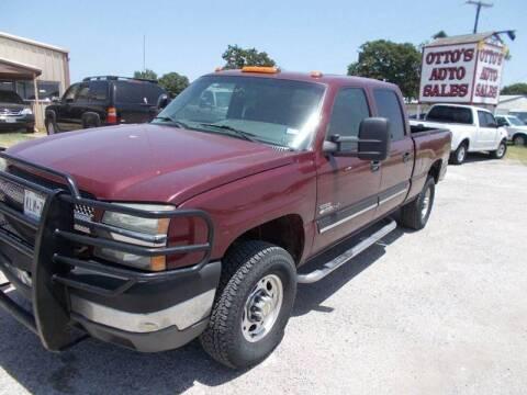 2003 Chevrolet Silverado 2500HD for sale at OTTO'S AUTO SALES in Gainesville TX
