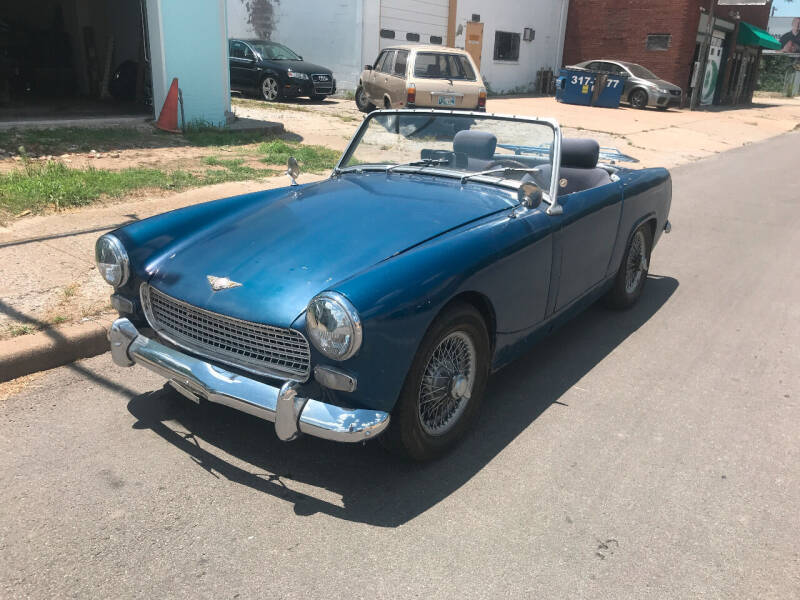 1962 Austin-Healey Sprite MKIII for sale at Finish Line Motors in Tulsa OK