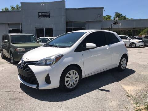 2015 Toyota Yaris for sale at Popular Imports Auto Sales in Gainesville FL