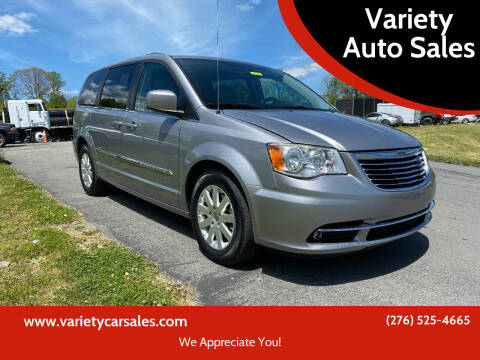 2013 Chrysler Town and Country for sale at Variety Auto Sales in Abingdon VA