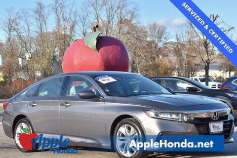 2018 Honda Accord for sale at APPLE HONDA in Riverhead NY