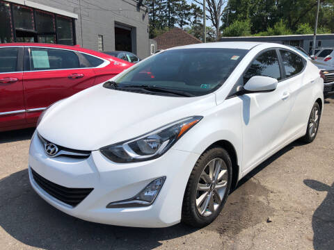 2016 Hyundai Elantra for sale at Champs Auto Sales in Detroit MI