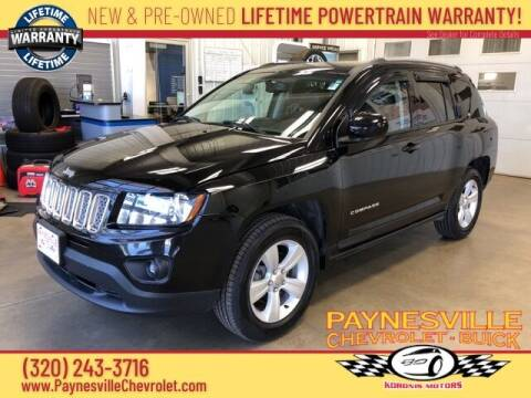 2016 Jeep Compass for sale at Paynesville Chevrolet Buick in Paynesville MN