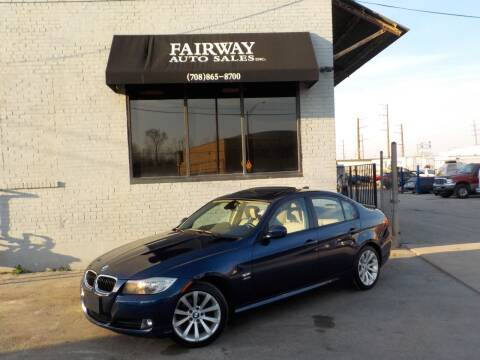 2011 BMW 3 Series for sale at FAIRWAY AUTO SALES, INC. in Melrose Park IL