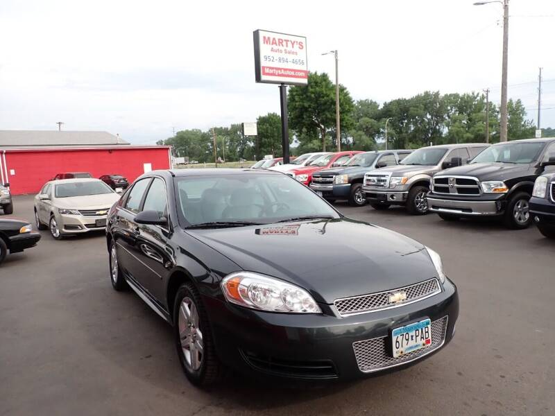 2012 Chevrolet Impala for sale at Marty's Auto Sales in Savage MN