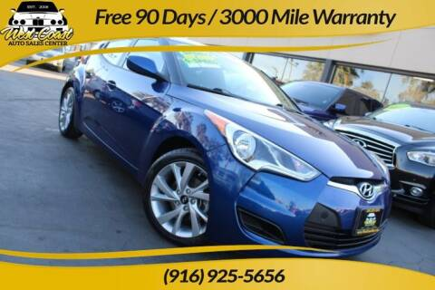 2016 Hyundai Veloster for sale at West Coast Auto Sales Center in Sacramento CA