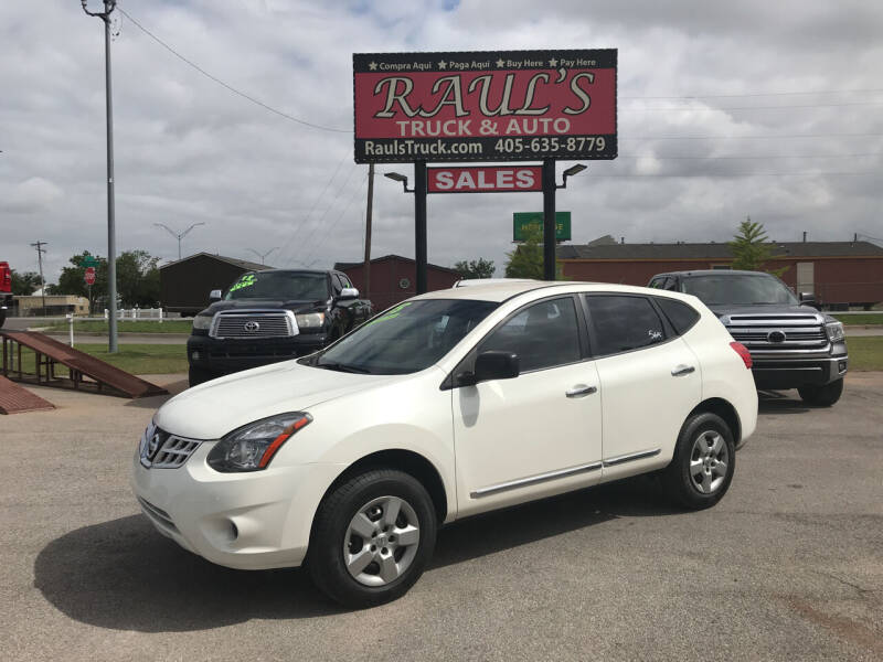 2015 Nissan Rogue Select for sale at RAUL'S TRUCK & AUTO SALES, INC in Oklahoma City OK