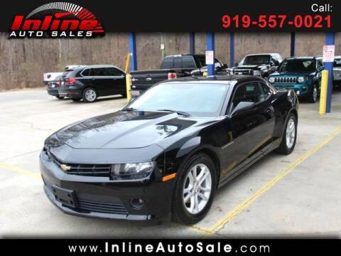 2015 Chevrolet Camaro for sale at Inline Auto Sales in Fuquay Varina NC