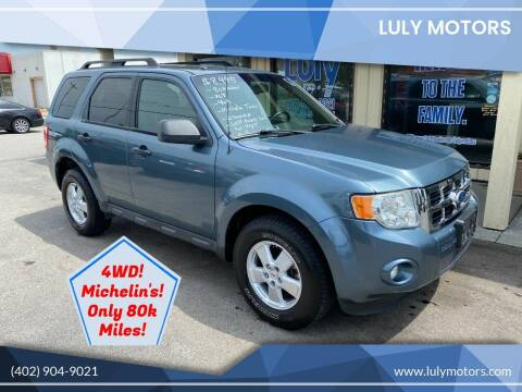 2010 Ford Escape for sale at Luly Motors in Lincoln NE