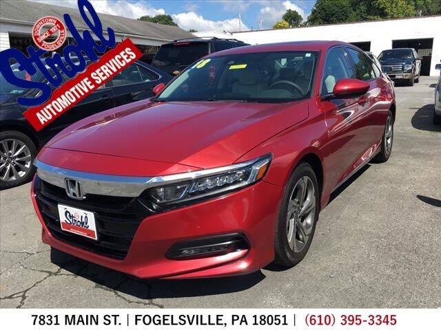 2018 Honda Accord for sale at Strohl Automotive Services in Fogelsville PA